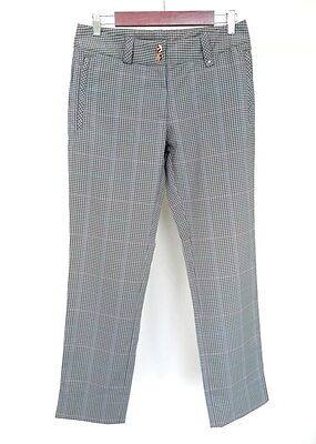 NIKE Golf Dry fit Womens Check Trousers Size : UK 10