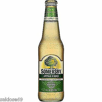 24 Flaschen Somersby Apple Cider a 0,33L 4,5% Refresching Crisp Taste