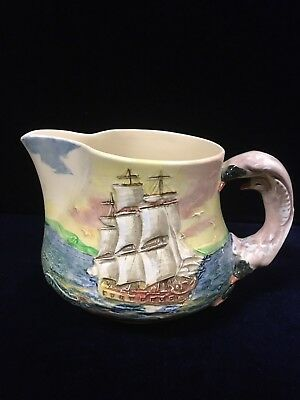 Vintage Royal Doulton Famous Ships The Sirius Jug Made In England