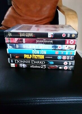 DVD movie bundle collection