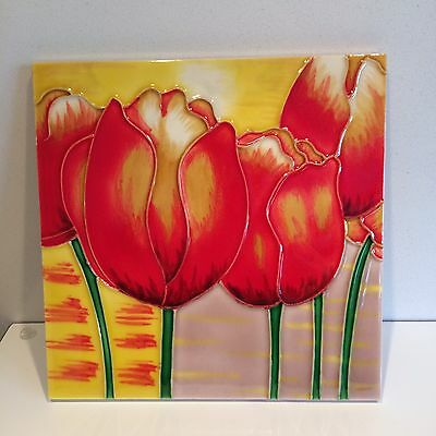 Old Tupton Ware Ceramic Tile TULIP SALE