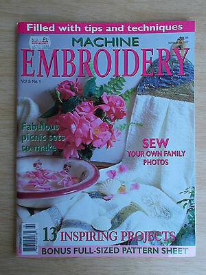 Machine Embroidery Vol 5 #1~Picnic Set~Butterfly~Under Sea~Magnolias~Uluru~Gown