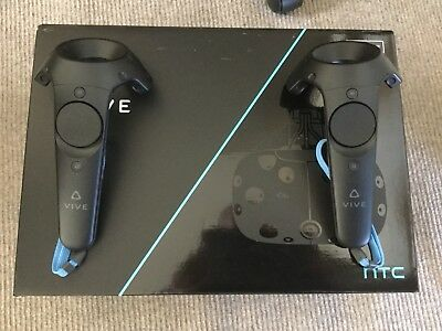 Htc Vive Vr Headset With Sensors And Controllers all accessories included