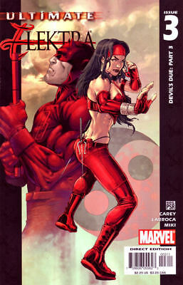 Ultimate Elektra #3 (2004) 1St Printing Bagged And Boarded Marvel Comics