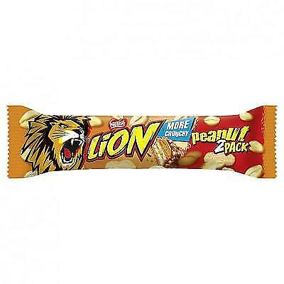 28 Riegel Lion Peanut 2pack big size a 60g Erdnuss 1,68kg