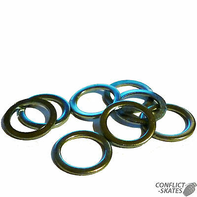 """AXLE WASHERS """"Speed"""" x16 Skate Roller Derby  Set of 16 Fit 8mm diameter axles"""