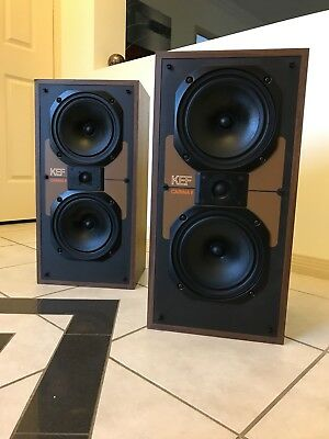 Vintage KEF Speakers Ex Condition