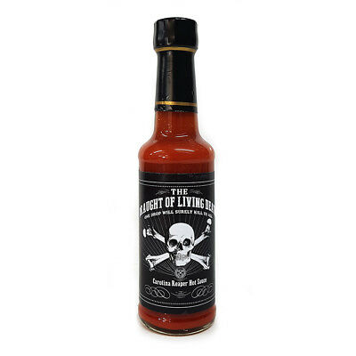 Draught Of The Living Dead - One Drop Will Kill Us All Carolina Reaper Sauce