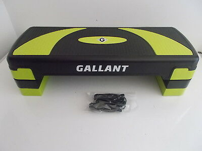 Gallant Exercise 3 Level Adjustable Aerobic Stepper – Green