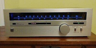 Vintage Sansui T-60 Tuner Blue LED Upgreade Serviced Cleaned Tested Work Great