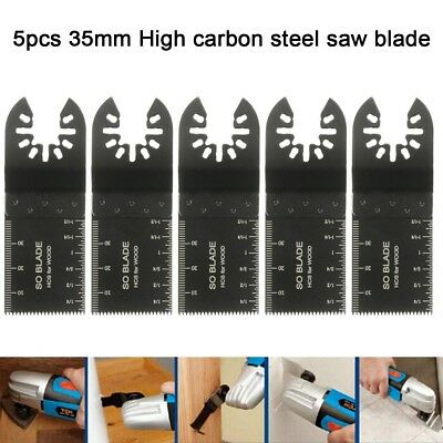 5pcs Multi Tool Saw Blades Sets 35mm For DeWalt Black & Decker Standard Wood