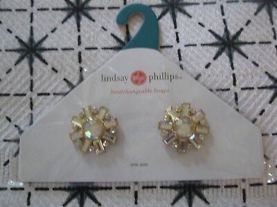 Lindsay Phillips Pair of Lucille Shoe Snaps    NIP