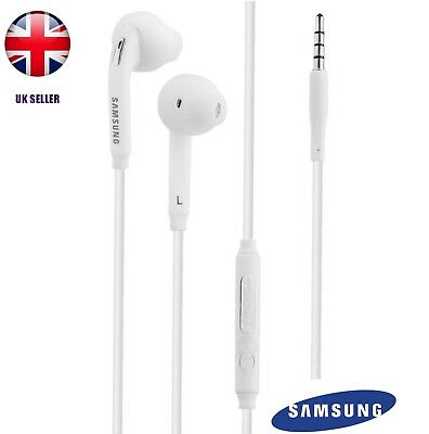 Samsung Headphones Earphones Hands Free Earpods for Edge Note S7 6 5 S4 with Mic