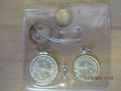 1883 queen victoria silver maundy set unboxed