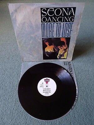 """Seona Dancing More To Lose 12"""" Vinyl Record Single RICKY GERVAIS LONX22 London"""