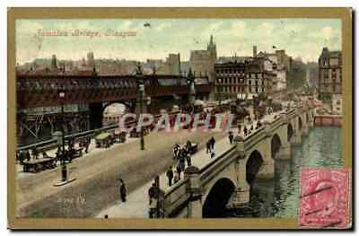 VINTAGE POSTCARD Jamaica Bridge Glasgow