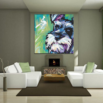 Pet Dog Wall Painting Canvas Picture Print Animal No Frame Art Home Room Decor