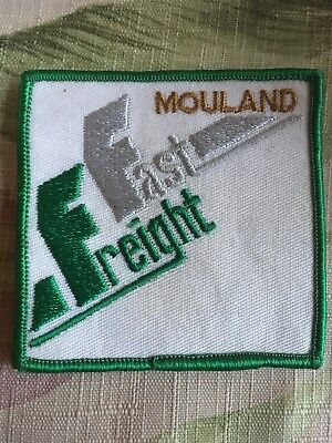 fast freight mouland trucking transportation patch