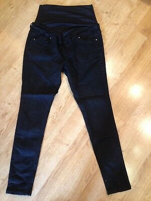 Size 14 Maternity Black Jeans Over Bump