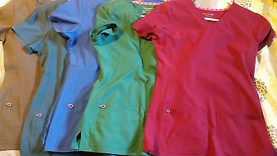 womens heartsoul scrubs variety of colors