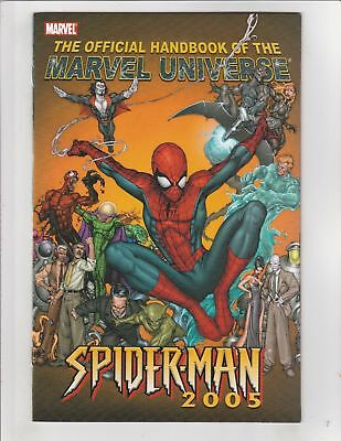 The Official Handbook Of The Marvel Universe: Spider-Man (2005) Marvel Comics