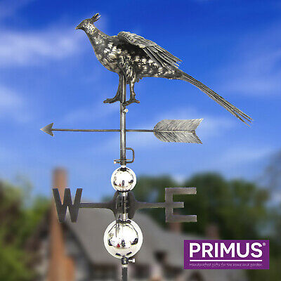 Primus 3D Horse Stainless Steel Weathervane with Garden Stake Weather Vane