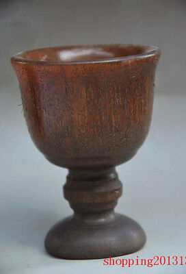 Collectible Chinese  100% Ox Horn Hand Carved Cups