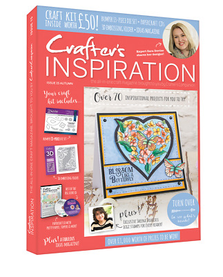 Crafters Inspiration Issue 15 Crafters Companion Autumn Edition £50 Free Gifts