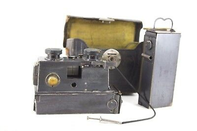 "antique/vintage  ""Jules Richard"" Verascope""  Stereo Camera with spare back"