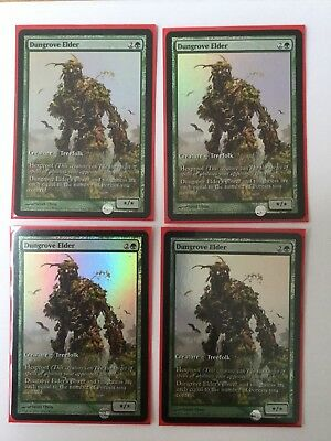 MTG Dungrove Elder GAME DAY FOIL PROMO x4, Near Mint, Magic the Gathering
