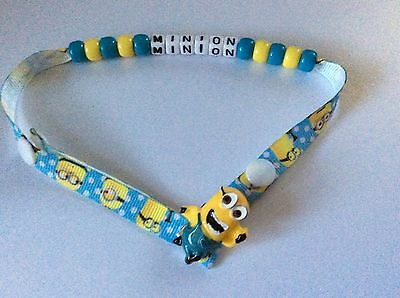 Despicable Me ~ Minions ~ Personalised   Dummy / Soother / Pacifier Clip ~ NEW ~