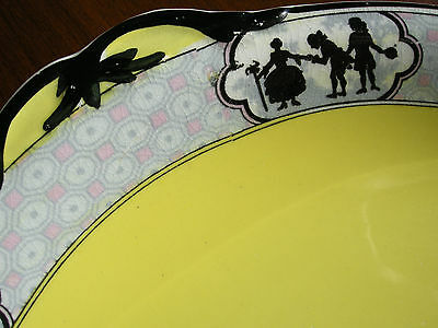Antique Cake Plate ~ c.1930's ~ Baker & Co. Pottery