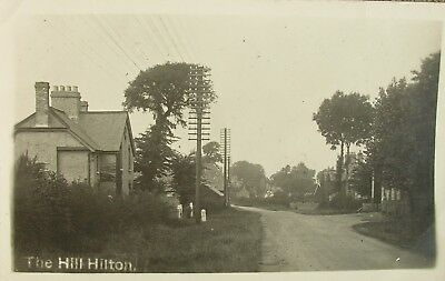 The Hill Hilton Near St Ives Huntingdonshire Early Rp Pc