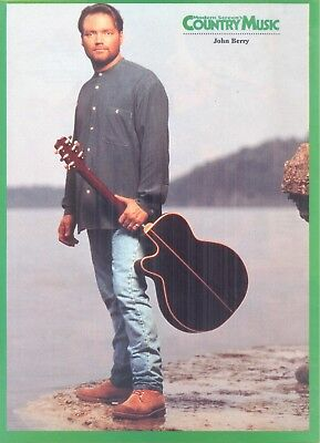 John Berry, Country Music Star in 1995 Magazine Print Photo Clipping
