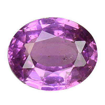0.810 Cts SUPER TOP LUSTER PINK NATURAL SAPPHIRE OVAL ,VIDEO IN DESCRIPTION