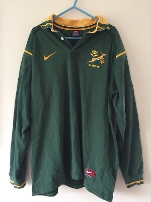 Nike South Africa Rugby Shirt Large