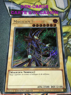 OCCASION Carte Yu Gi Oh MAGICIEN SOMBRE CT14-FR001