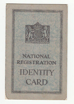 National Registration Identity Card - 22nd June 1943