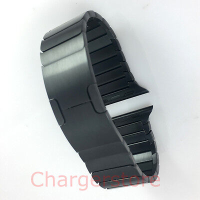 Original Genuine Apple Watch Link Bracelet band stainless steel 38mm SPACE BLACK