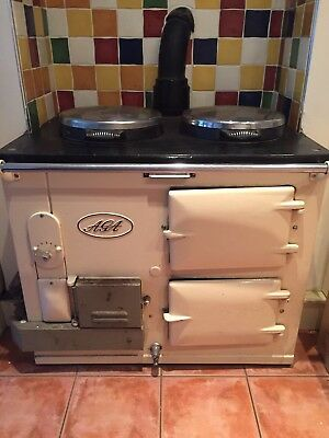 Traditional Aga 2 Oven Gas Working Order Cream