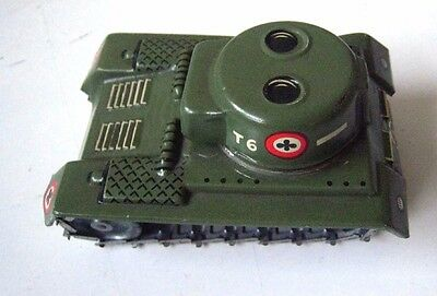 Tin plate Tank (small) made in Western Germany in American Army colours