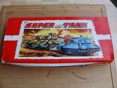 Toy Hero (JP) Blechspielzeug - Set (9ST) Vintage Tanks Windup 1960 - TOP in OVP