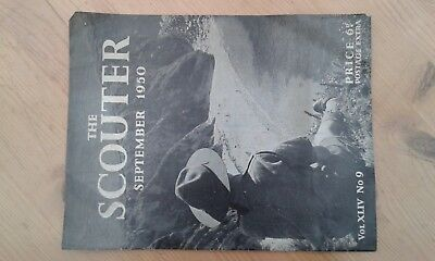 The Scouter Scout Magazine September 1950