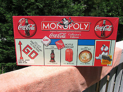 COCA COLA Monopoly Collectors Edition 1999 New & Factory Sealed!