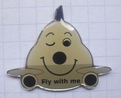 LUFTHANSA / JUMBO / FLUGZEUG / FLY WITH ME   ..............Airline-Pin (151c)