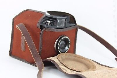 ILFORD Envoy,  art deco style bakelite camera WITH case, very nice condition