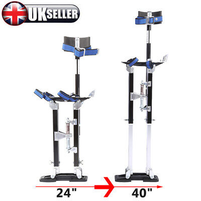 Double Springs Drywall Painters Stilts Taping Finishing Tools Height Adjustable