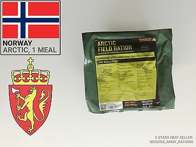 Norway Army Ration Pack ARTIC. Military meals ready to eat (MRE) cold season