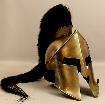 300 Spartan Movie King Leonidas Medieval Roman Helmet Greek Liner Reenactment