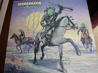 Bandolier-Budgie-Vinyl Lp-Mcf2723-With Advertising Flyer